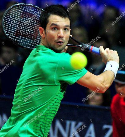 Editorial picture of Croatia Tennis Zagreb Indoors - Feb 2014