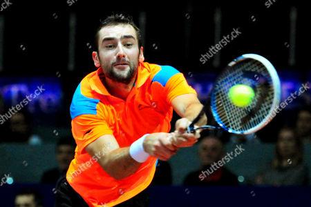 Editorial photo of Croatia Tennis Zagreb Indoors - Feb 2014