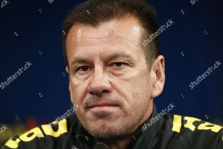 Brazilian National Soccer Team Head Coach Carlos Dunga Holds a Press Conference at the Stade De France Stadium in Saint-denis Outside Paris France 25 March 2015 Brazil Will Face France in an International Friendly on 26 March France Saint-denis