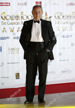 Argentina's Soccer Player Osvaldo Ardiles Poses For the Media Prior to the Gala of the Soccer Golden Foot Awards 2013 in Monaco on 16 October 2013 the Golden Foot Award is an International Career Award For Players who Stand out For Their Sport Results Monaco Monaco