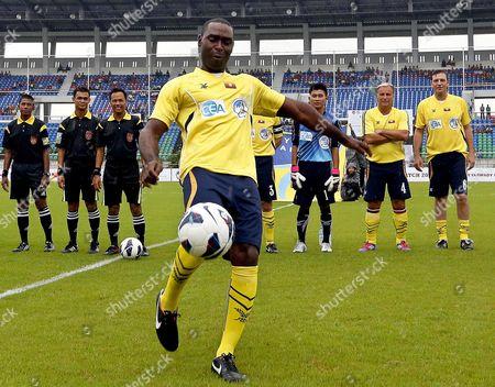 Editorial photo of Myanmar Soccer Charity - Jun 2013