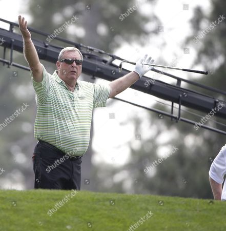 Fuzzy Zoeller of the Us Reacts on the First Hole During the Par 3 Contest at the 2015 Masters Tournament at the Augusta National Golf Club in Augusta Georgia Usa 08 April 2015 the Masters Tournament is Held 09 April Through 12 April 2015 United States Augusta