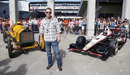 Stock Image of Us Actor Cole Houser Arrives For the 98th Running of the Indianapolis 500 Auto Race at the Indianapolis Motor Speedway in Indianapolis Indiana Usa 25 May 2014 United States Indianapolis