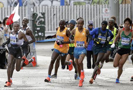 Editorial photo of Usa New York City Marathon - Nov 2014