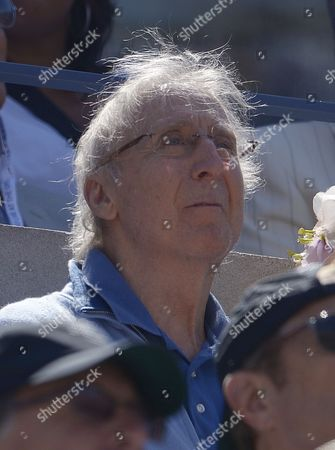 Us Actor Gene Wilder Watches As Novak Djokovic of Serbia Plays Stanislas Wawrinka of Switzerland During Their Semifinals Round Match on the Thirteenth Day of the 2013 Us Open Tennis Championship at the Usta National Tennis Center in Flushing Meadows New York Usa 07 September 2013 the Us Open Runs Through Monday 09 September a 15-day Schedule For the First Time United States Flushing Meadows