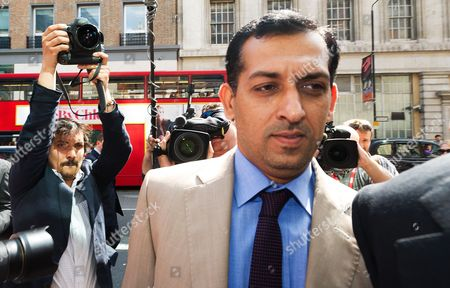 Godolphin Trainer Mahmood Al Zarooni Arrives to a Disciplinary Panel of the British Horseracing Authority in London Britain 25 April 2013 Al Zarooni was Charged by the British Horseracing Authority After Samples From 11 of His Horses Were Found to Have Contained Traces of Anabolic Steroids United Kingdom London