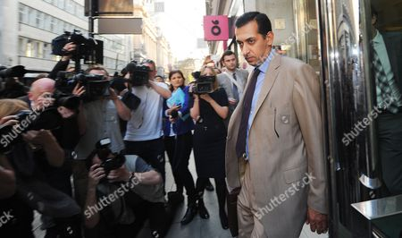 Emirati Horse Racing Trainer Mahmood Al Zarooni Leaves a Disciplinary Panel of the British Horseracing Authority in London Britain 25 April 2013 Al Zarooni Has Been Banned From Racing For Eight Years in the Godolphin Anabolic Steroids Case the British Horseracing Authority Took Samples From 11 of His Horses That Were Found to Have Contained Traces of Anabolic Steroids United Kingdom London