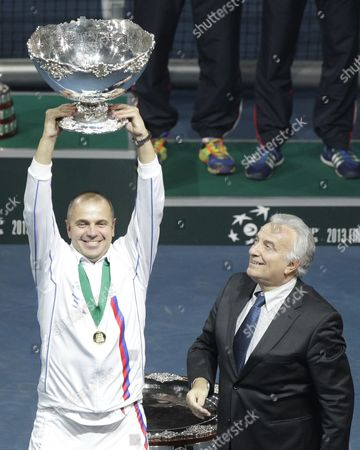 Editorial picture of Serbia Tennis Davis Cup Final - Nov 2013