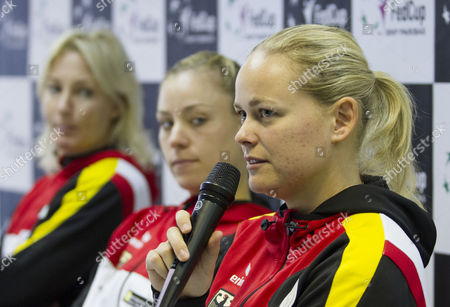 Editorial photo of Slovakia Tennis Fed Cup - Feb 2014