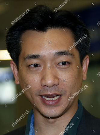 Thai Businessman Bee Taechaubol (l) Talks to Media As He Arrives to the Suvarnabhumi Airport After He Back From Milan in Bangkok Thailand 03 May 2015 Ac Milan Owner Silvio Berlusconi is Set to Retain the Majority of the Serie a Club Shares As Negotiations with a Group of Foreign Investors Continued the Club Controlling Company Fininvest was Quoted As Saying on 02 May 2015 Thai Businessman Bee Taechaubol who Represents Ads Securities a Financial Firm Based in Abu Dhabi and China Citic Bank Met with Berlusconi the Former Prime Minister of Italy with His Offered of 500 Million Euros (556 Million Dollars) to Acquire 51 Per Cent of the Club Shares the Club is Estimated to Be Worth Between 1 and 1 4 Billion Euros Thailand Bangkok