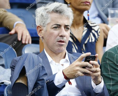 Pershing Square Capital Management Ceo Bill Ackman Watches As Stan Wawrinka of Switzerland Plays Kei Nishikori of Japan During Their Quarterfinals Round Match on the Tenth Day of the 2014 Us Open Tennis Championship at the Usta National Tennis Center in Flushing Meadows New York Usa 03 September 2014 the Us Open Runs Through 08 September a 15-day Schedule United States Flushing Meadows