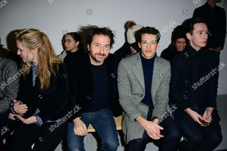 Edouard Baer, Germain Louvet, Lorcan London in the front row