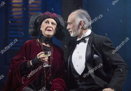 Stock Image of Gay Soper as Contessa Evangelina, Anthony Cable as Baron Dario