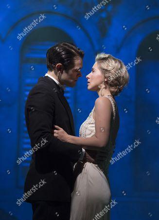 Stock Image of Zoe Doano as Grazia, Chris Peluso as Prince Sirki