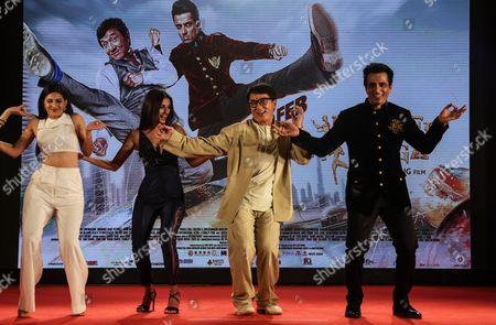 Sonu Sood, Jackie Chan, Disha Patani and Amyra Dastur