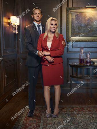 Stock Picture of Matt Battaglia and Heather Locklear