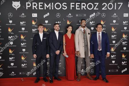 Patrick Criado, Luis Fernandez and Andrea del Rio