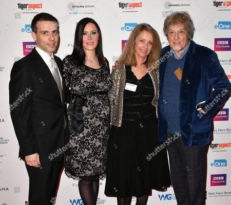 Will Stoppard, Linzi Stoppard, Sabrina Stoppard, Sir Tom Stoppard