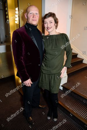 Dominic Burns and Camilla Rutherford
