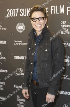 Playwright Sarah Gubbins, arrives for the premiere of 'I Love Dick' at the 2017 Sundance Film Festival in Park City, Utah, USA, 23 January 2017. The festival runs from 19 to 29 January.