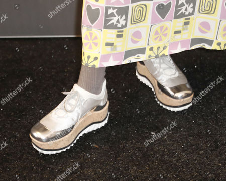 Actress India Menuez shoes as she arrives for the premiere of 'I Love Dick' at the 2017 Sundance Film Festival in Park City, Utah, USA, 23 January 2017. The festival runs from 19 to 29 January.