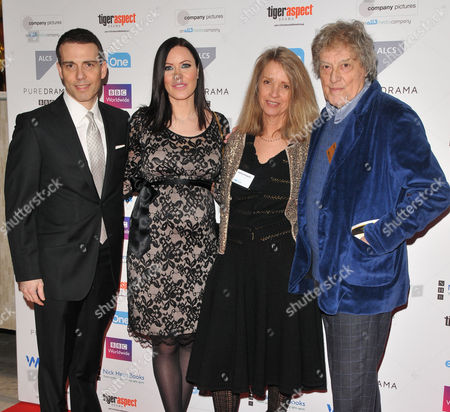 Will Stoppard, Linzi Stoppard, Sabrina Stoppard and Sir Tom Stoppard