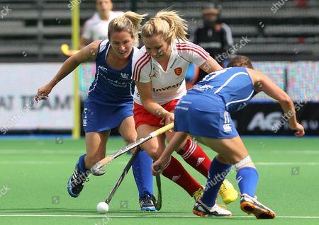 Editorial image of Belgium Field Hockey Eurohockey 2013 - Aug 2013