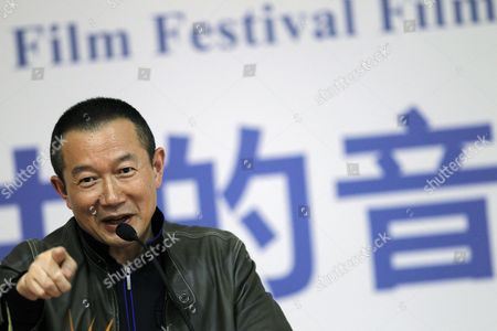 Stock Picture of Chinese-born Composer Tan Dun Speaks During a Film Music Forum at the Beijing International Film Festival in Beijing China 27 April 2012 the Beijing International Film Festival Will Run From 23 to 28 April China Beijing