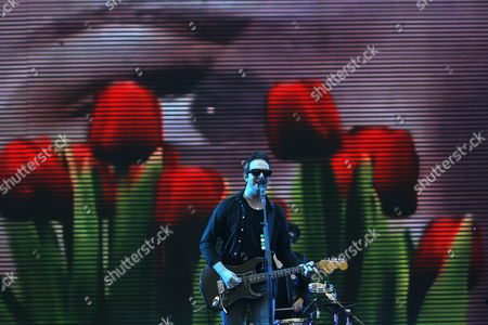 A Picture Made Available on 20 May 2012 Shows James Allan Singer of Scottish Band Glasvegas Performing at the China Music Valley International Music Festival in Pinggu District on the Outskirts of Beijing China 18 May 2012 Music Festivals Are Fast Becoming Popular in China with with Many International Bands Coming in to Promote Themselves For a Slice of the Vast Chinese Music Market China Beijing
