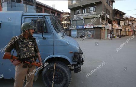 Editorial photo of India-kashmir Shutdown - Apr 2015
