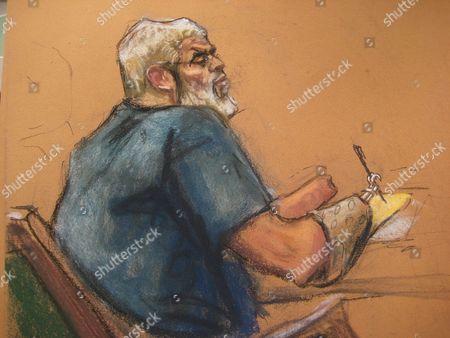 Editorial picture of Usa Abu Hamza Verdict - May 2014
