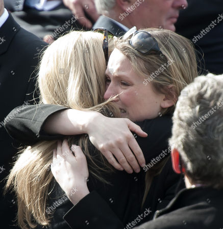 A Mourner Shows Her Feelings to a Departed Loved One 06 May 2014 After the Repatriations of Capt Thomas Clarke Warrant Officer Spencer Faulkner and Cpl James Walters All From the Army Air Corps; and Raf Intelligence Officer Flt Lt Rakesh Chauhan and L/cpl Oliver Thomas Both of the Intelligence Corps who Were Killed in a Helicopter Crash 26 April 2014 Afghanistan Wootton Bassett Britain the Public Send-off at Carterton Followed the Repatriations at Raf Brize Norton Oxfordshire Most of the Isaf Troops Stationed in the Volatile Southern Areas Are Americans Britons and Canadians United Kingdom Wootton Bassett