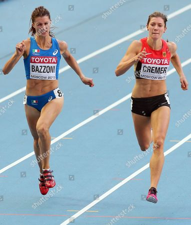 Editorial picture of Russia Iaaf Athletics World Championships Moscow 2013 - Aug 2013