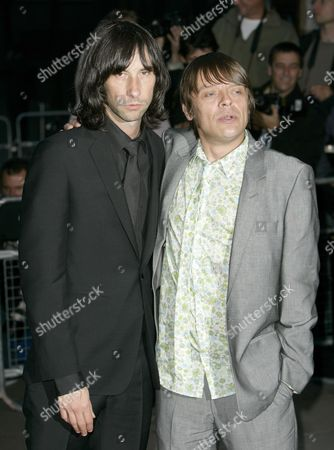 Bobby Gillespie and Gary 'Mani' Mounfield