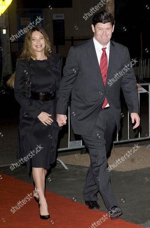 Erica Baxter and James Packer