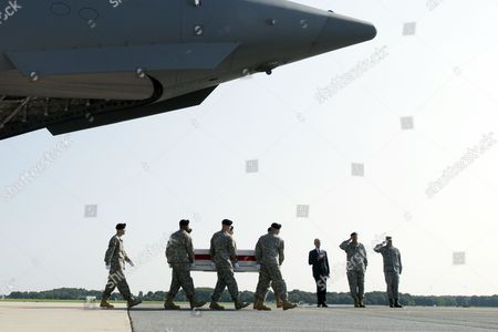 Editorial picture of Usa Afghanistan War Casualty Military - Aug 2014