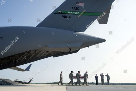 Editorial image of Usa Afghanistan War Casualty Military - Aug 2014