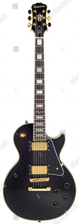 An Epiphone Bjorn Gelotte Ltd Edition Les Paul Custom Electric Guitar