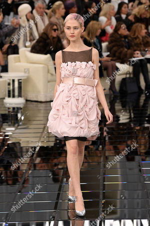 Stock Image of Charlotte Free on the catwalk