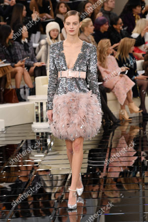 Editorial image of Chanel show, Spring Summer 2017, Haute Couture Fashion Week, Paris, France - 24 Jan 2017