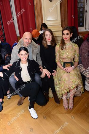 Stock Photo of Sylvie Ortega Munos, Guy Amram, Juliette Besson, Elisa Toffoli Bachir Bey