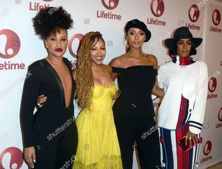 Kellee Stewart, Meagan Good, Keri Hilson and Kelly Rowland