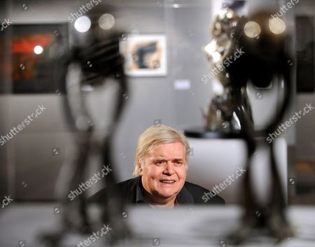 A Picture Made Available on 09 March 2011 Shows Swiss Artist H R Giger Pictured During a Tour of the Exhibition 'Traeume Und Visionen' (dreams and Visions) at the Kunsthaus Wien in Vienna Austria 08 March 2011 the Retrospective of Hans Ruedi Giger Work is Runs From 10 March Until 26 June 2011 Austria Vienna