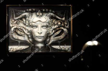 A Picture Made Available on 09 March 2011 Shows a View of Swiss Artist Hr Giger's 'Li I' at the Exhibition 'Traeume Und Visionen' (dreams and Visions) at the Kunsthaus Wien in Vienna Austria 08 March 2011 the Retrospective of Hans Ruedi Giger Work is Runs From 10 March Until 26 June 2011 Austria Vienna