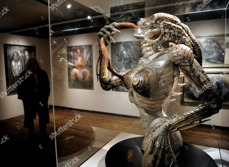 A Picture Made Available on 09 March 2011 Shows a General View of Swiss Artist Hr Giger's Exhibition 'Traeume Und Visionen' (dreams and Visions) at the Kunsthaus Wien in Vienna Austria 08 March 2011 the Retrospective of Hans Ruedi Giger Work is Runs From 10 March Until 26 June 2011 Austria Vienna