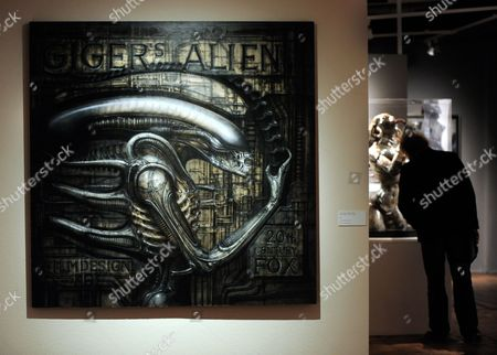 A Picture Made Available on 09 March 2011 Shows a View of Swiss Artist Hr Giger's 'Alien' at the Exhibition 'Traeume Und Visionen' (dreams and Visions) at the Kunsthaus Wien in Vienna Austria 08 March 2011 the Retrospective of Hans Ruedi Giger Work is Runs From 10 March Until 26 June 2011 Austria Vienna