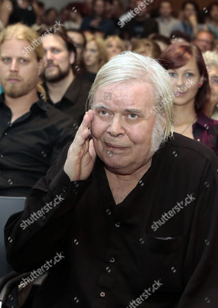 Swiss Artist H R Giger Attends the Opening of the Ars Electronica 2013 Exhibition 'Hr Giger the Art of Biomechanics' in Linz Austria 04 September 2013 the Exhibition Runs From 05 to 29 September Austria Linz