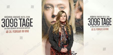 Austrian Natascha Kampusch Poses on the Red Carpet Prior to the Premiere of the Movie '3096 Days' at the Cineplexx Vinema Wienerberg in Vienna Austria 25 February 2013 Kampusch was Kidnapped at the Age of 10 and Held in a Cellar For Over Eight Years Austria Vienna