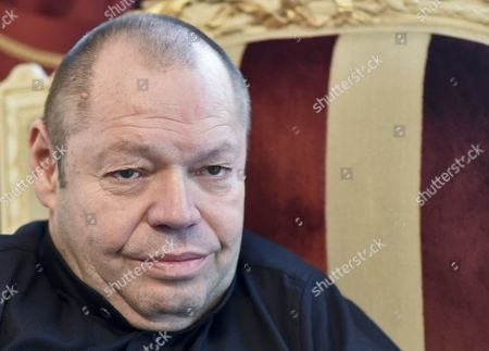 A Picture Made Available on 07 November 2014 Shows German Bass-baritone Thomas Quasthoff During an Interview with the Austrian Press Agency (apa) in Vienna Austria 03 November 2014 Austria Vienna