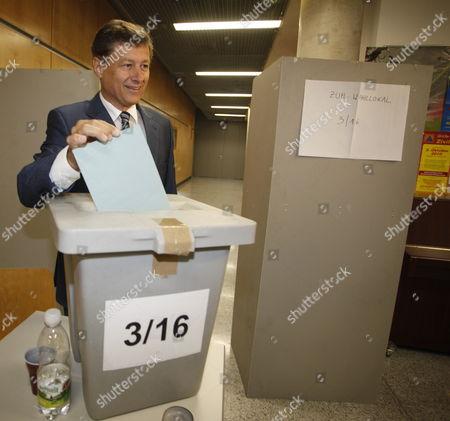 Editorial photo of Austria Elections - Sep 2010